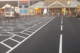Car parking bays